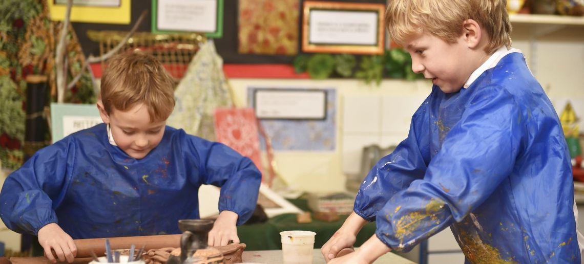 art and design at boys pre prep