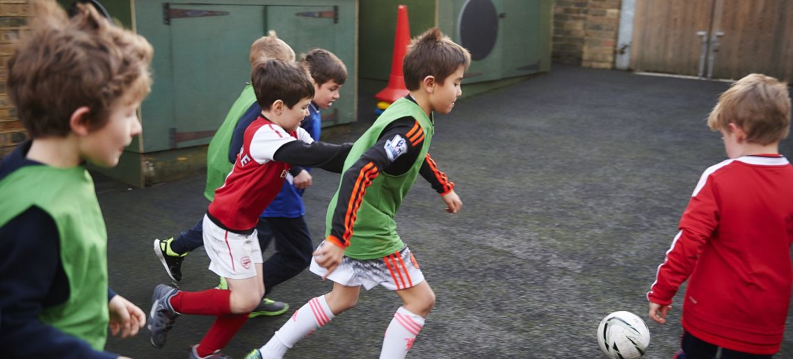 boys prep school richmond football