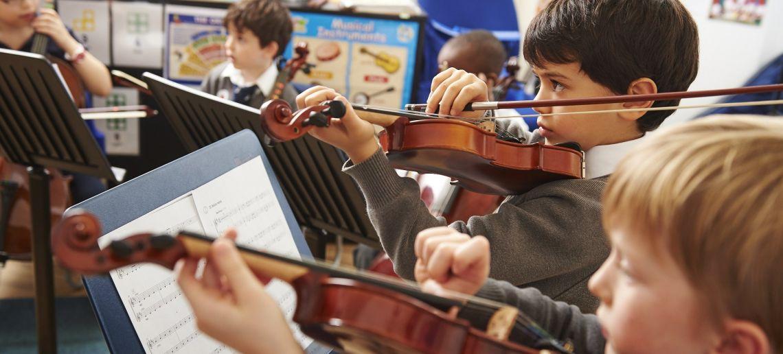 boys pre prep music class