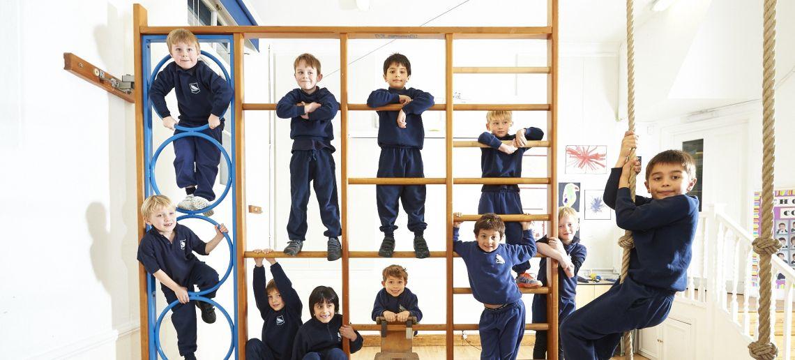 PE at all boys prep school richmond